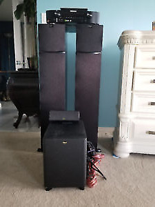 Awesome Marantz 4K receiver and Klipsch speakers