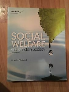 Social Welfare in Canadian Society 5th Edition (GREAT CONDITION) Kitchener / Waterloo Kitchener Area image 1