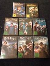Harry Potter DVD set all 8 parts Ashgrove Brisbane North West Preview
