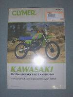 Clymer Shop Manual For 1966-2001 Kawasaki 80-350cc Rotary Valve Stratford Kitchener Area Preview