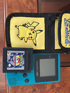 Gameboy Colour & Pokemon Trading Card Game