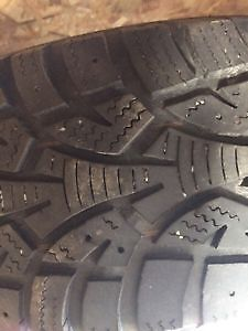 Two Wanli 185/65/15 Winter tires