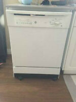 GENERAL ELECTRIC PORTABLE DISHWASHER