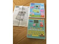Peppa Pig Tablet - Fun & Learn Tablet - in Box with instructions
