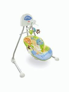 Fisher Price Animal World Cradle Swing NEW IN BOX