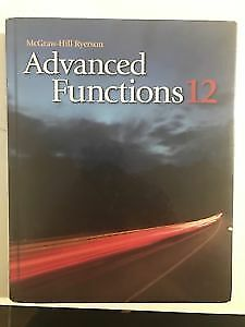 ADVANCED FUNCTIONS  textbook & study guide