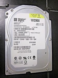 IDE 30GB and 80GB 3.5 inch Hard Drives