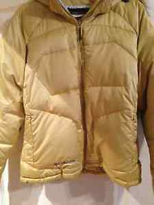 Columbia winter puffer jacket