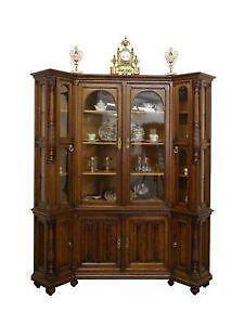 vitrine antik ebay. Black Bedroom Furniture Sets. Home Design Ideas
