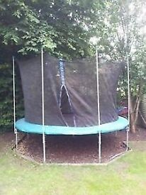 Trampaline 8ft to clear reduced to £27.50