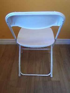 LARGE QUANTITY COSCO MOLDED RESIN FOLDING CHAIRS - NEW & USED Stratford Kitchener Area image 3