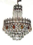 Kronleuchter Kristall Antik