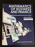 Mathematics of Business and Finance - Second Edition