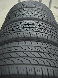set of 4 All season 215 70 R 15 GOODYEAR WITH 90%