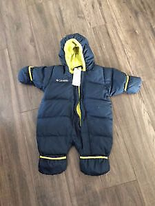 Columbia one piece snow suit size 6 months