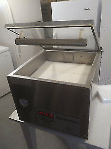 BARELY USED WILL DELIVER... Bizerba vacuum packer