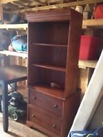Real nice dresser with shelves in Dieppe $75