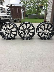 3 Used 18x8 rims Acura / Honda bolt pattern