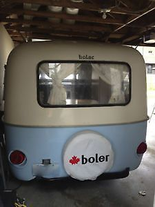 Fiberglass windows Front & Rear  43x19 for Boler Camper