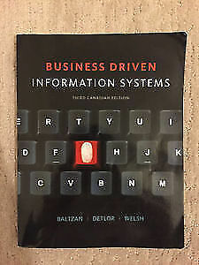 Business Driven Information Systems, 3rd Canadian edition