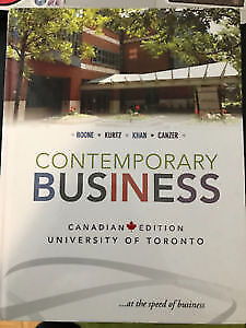 Contemporary Business canadian edition