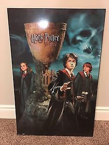 Harry Potter - hard poster - like new