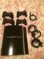 Ps3 + 4 controller and 16 games