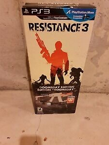 Mint Condition PS3 Gun Resistance Doomsday Edition