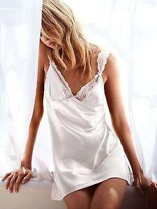 Victoria's Secret Angel Lace & Satin Slip