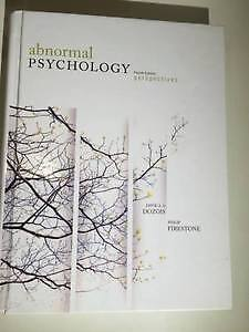 Abnormal Psychology- Perspectives, 4th Ed.