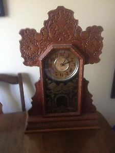 Gingerbread Clock - Very Nice Condition