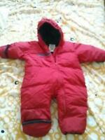 Columbia down-filled Red snowsiut Size 12 months
