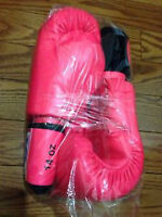 Twins 14oz Hot Pink Thai Boxing Gloves
