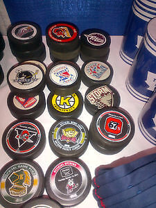 Puck Collection for sale Over 1,000 pucks