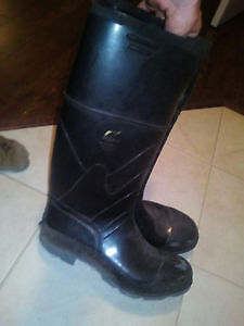 ONGUARD Industries Steel Toe Steel Sz 12 Rubber Boots