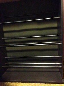 BLACK CD DVD Blu-Ray STORAGE SHELF/STAND WANTED London Ontario image 1