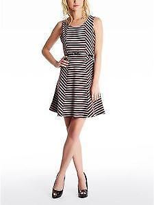 Guess dress ebay guess striped dress gumiabroncs Gallery