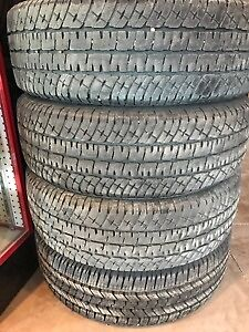 Used LT265/70R18E 10 Ply Tires 3x1 Michelin, 1x Goodyear