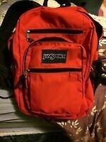 Large Red Jansport Backpack