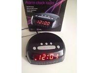 Mauvi Alarm Clock Radio