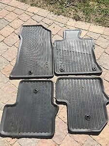 Acura TL OEM Rubber matts. Front and back.