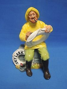 "ROYAL DOULTON ""THE BOATMAN"" HN 2417 - $250"