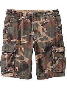 Men's Old Navy Camouflage Cargo Shorts (40)