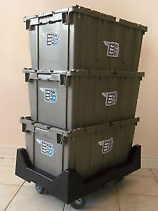 Moving Boxes Sale. ONE FREE WEEK OF MOVING BINS SAVE $$$