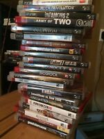 PS3 Games and Guitar Hero(Games only, no system)