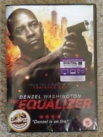 Jewel case.LIKE NEW.Unused UV Code..THE EQUALIZER DVD.Denzil Washington