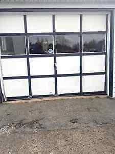 2 garage door   150$