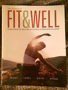 Fit and Well 3rd Canadian Edition Kitchener / Waterloo Kitchener Area image 1