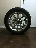ORIGINAL FORD MUSTANG ALLOY WHEELS WITH ALL SEASON TIRES