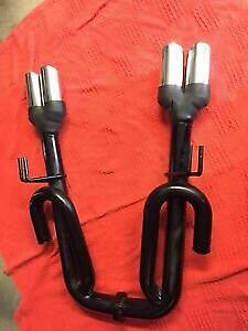 Ve Commodore ute exhaust rear mufflers J Pipes Holder Weston Creek Preview